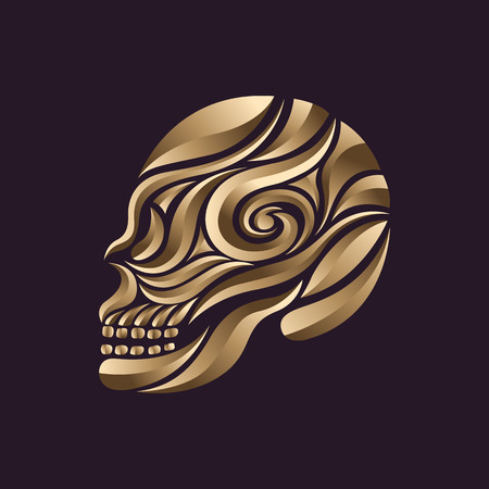 skull tattoo: schedel tattoo vector