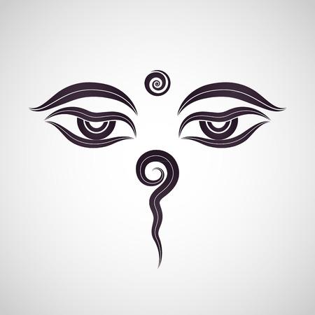 nirvana: Buddha eyes Nepal
