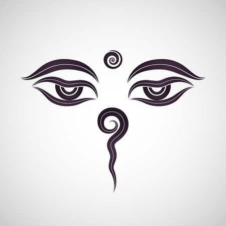 Buddha eyes Nepal