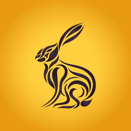 hares: Hares logo vector