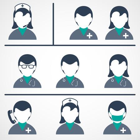 egészségügyi ellátás: Orvosi és Egészségügyi Ikonok