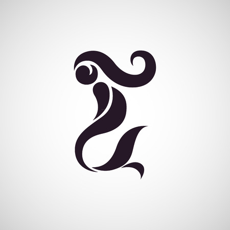 人魚のロゴのベクトル  イラスト・ベクター素材