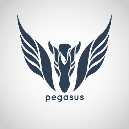 pegasus logo vector