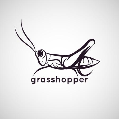 grasshopper logo vector