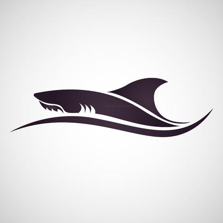サメのベクトル  イラスト・ベクター素材