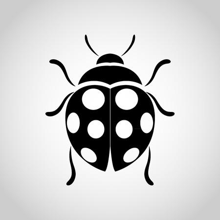 ladybug: ladybug vector icon