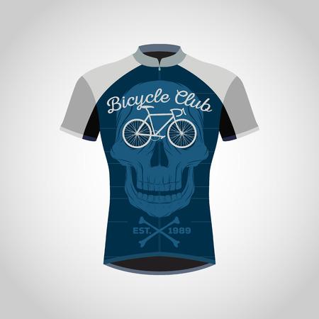 サイクリング シャツ デザインします。