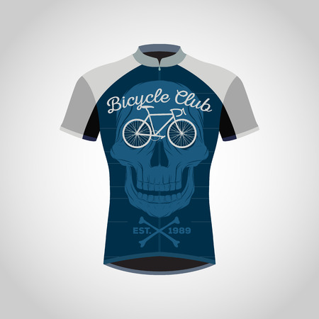 cycling shirts design Stock Illustratie