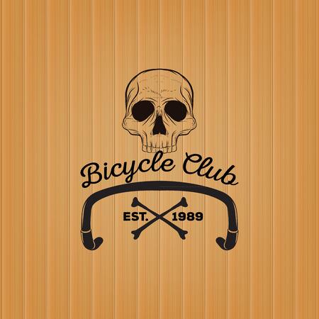 logo: Skull logo, Bicycle Club logo