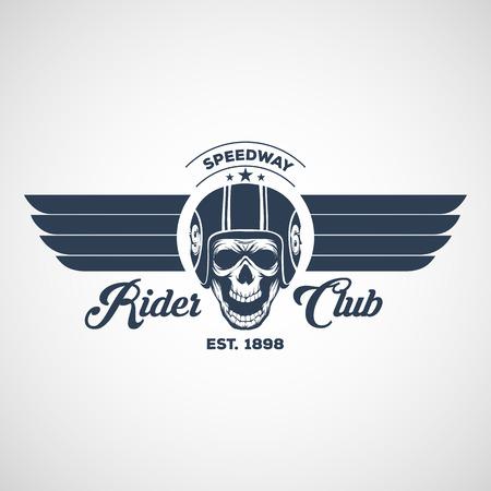 motor logo graphic design. logo, Sticker, label, arm 일러스트