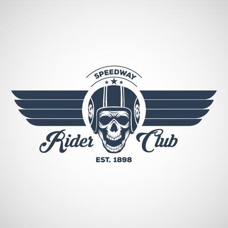 motor logo graphic design. logo, Sticker, label, arm Illustration