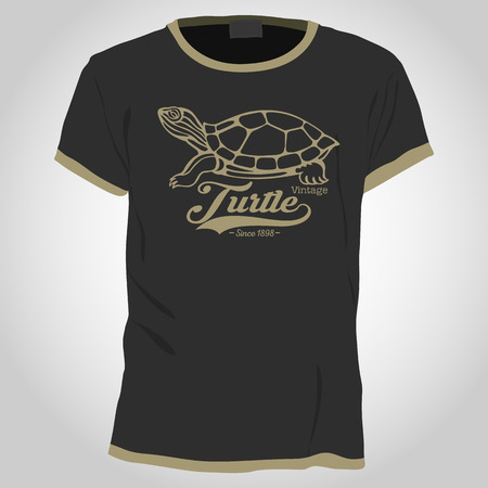 shirt design: turtle shirt design