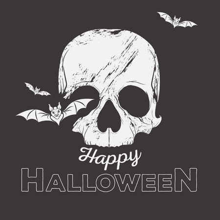 Halloween concept illustration