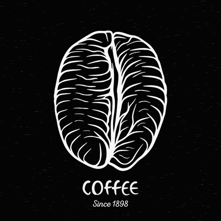 coffee: Vintage coffee bean