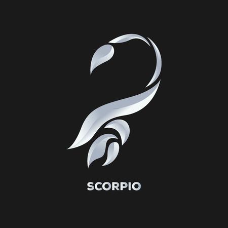 escorpio: Scorpio vector logo Vectores