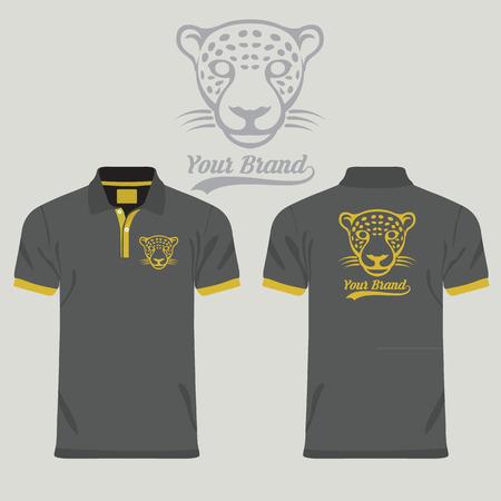 Color men polo shirts Vectores