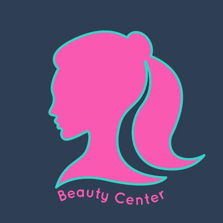 beauty center: Beauty Center design Illustration