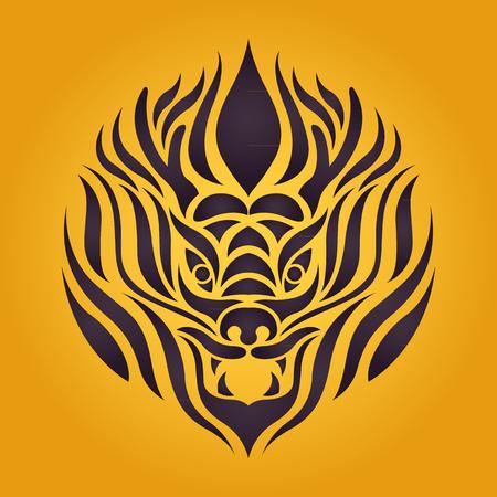 a legend of magic: Dragon