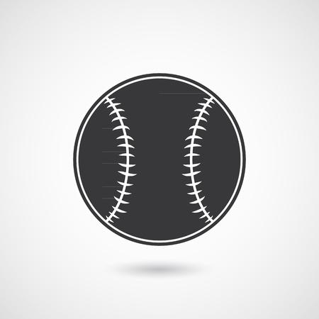 baseball cartoon: Baseball Ball