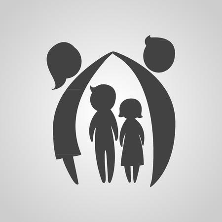 Icône de la famille Vecteurs