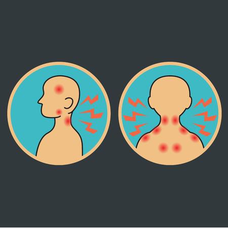 neck injury: Neck pain