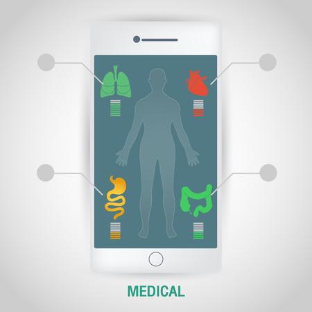 Medizintechnik Vektorgrafik