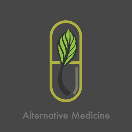 Médecine alternative Banque d'images - 59247575