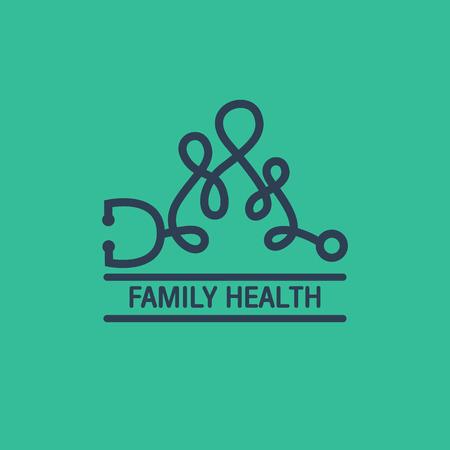 family: Family Health logo vector