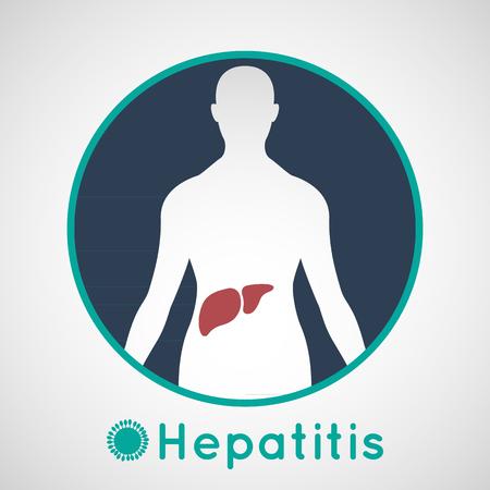 Vector illustration of Hepatitis