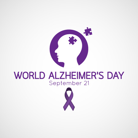 World Alzheimers Day illustration