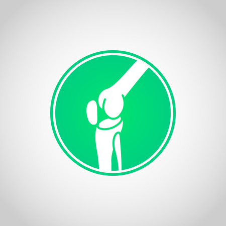 Bone and Joint Health vector icon illustration