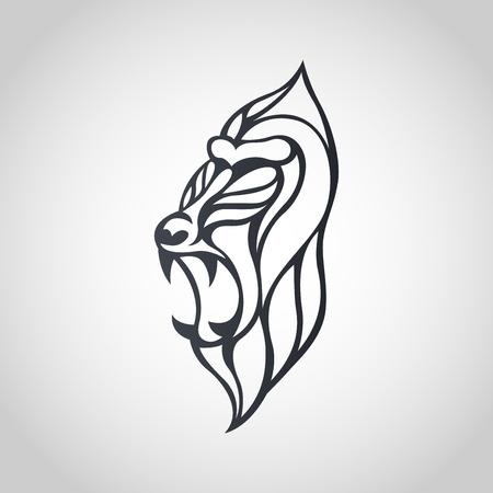 Baboon icon design, vector illustration