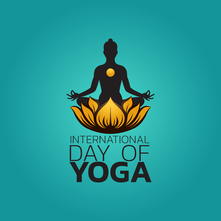 International Day of Yoga Vector illustration