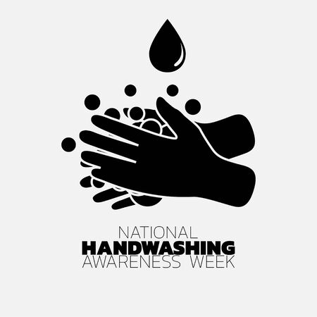 National Handwashing Awareness Week icon vector