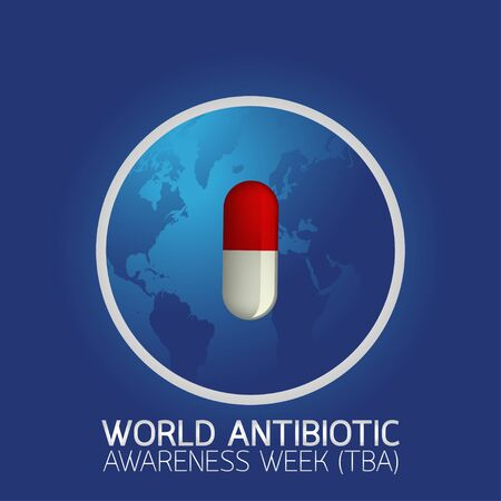 World Antibiotic Awareness Week (TBA) icon vector