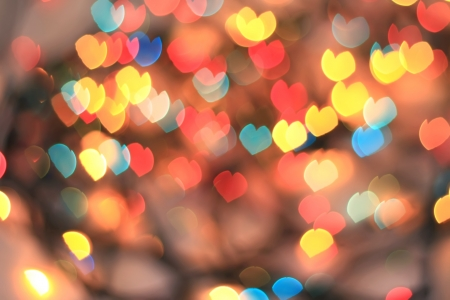 blurry lights: abstract background bokeh