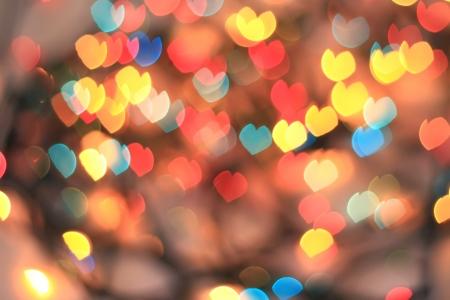 blurry lights: astratto sfondo bokeh Archivio Fotografico
