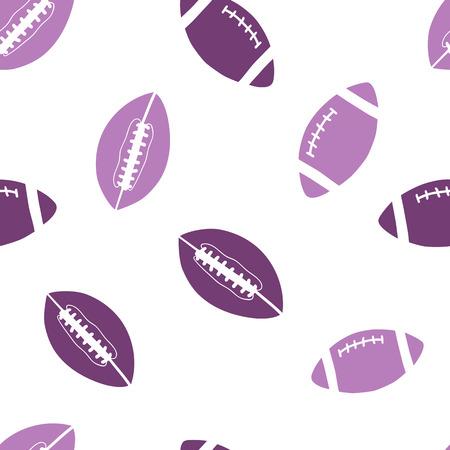 seamless pattern: sports balls