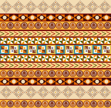 African ornament - seamless pattern