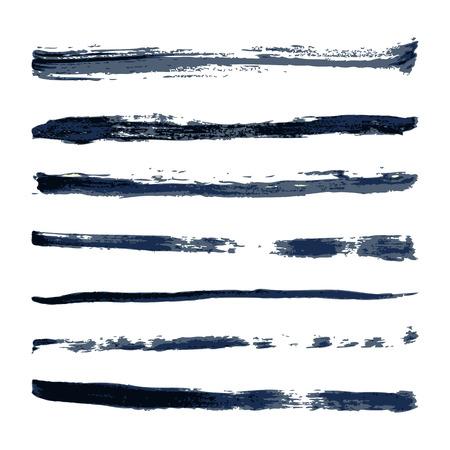 color vector brush stroke