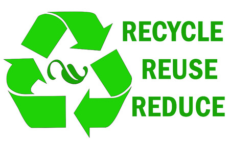 reduce: Recycle reuse reduce word Stock Photo