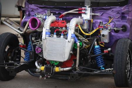 motor racing: motor racing engine