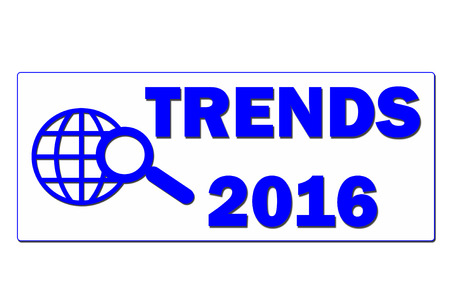 trends: Trends 2016 sign