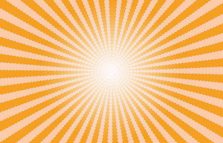 effect: Orange Starburst Effect background