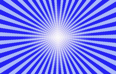 effect: Blue Starburst Effect background