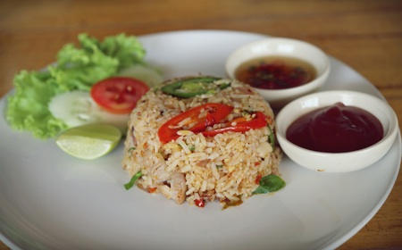 close up food: Close up of Thai food