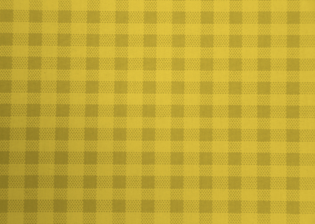 picnic tablecloth: yellow picnic tablecloth for background Stock Photo