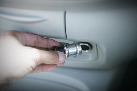 lighter: cigarette lighter
