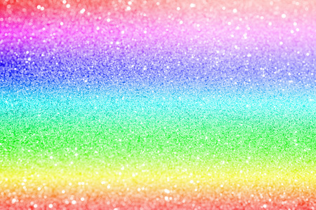 rainbow and pastel glitter texture abstract background Banco de Imagens