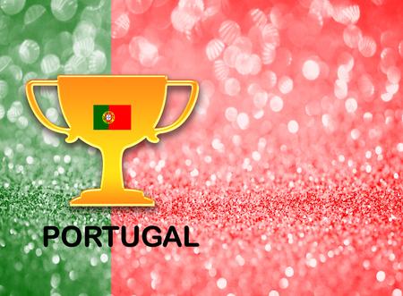 drapeau portugal: Drapeau du Portugal pour le football